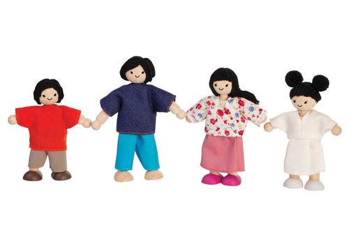 PlanToys Poppenfamilie (Aziatisch)