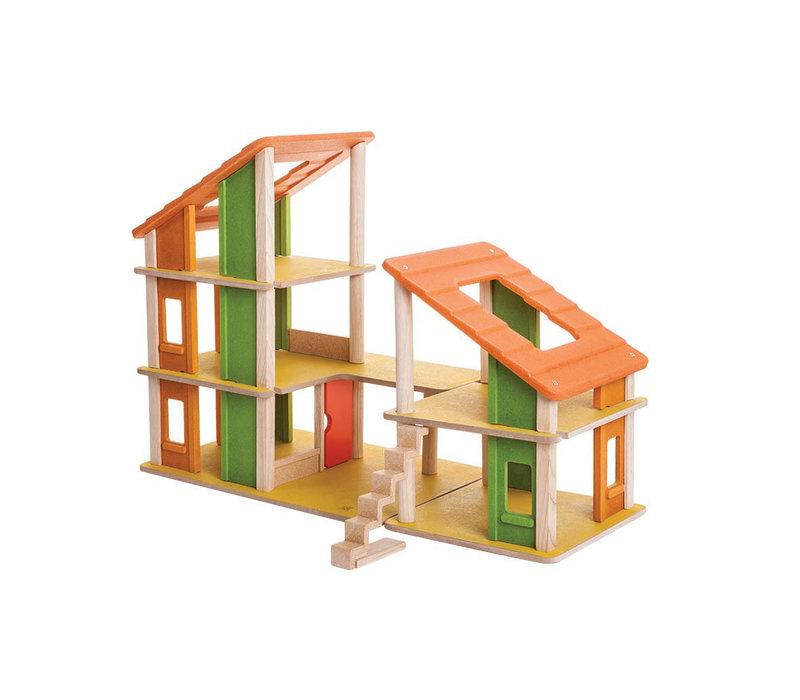 Chalet poppenhuis