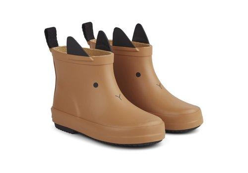 Liewood Rain boots Tobi Rabbit mustard