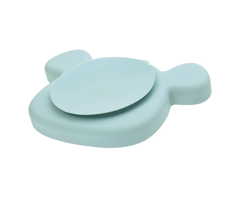 Section Plate Silicone Little Chums Mouse blue