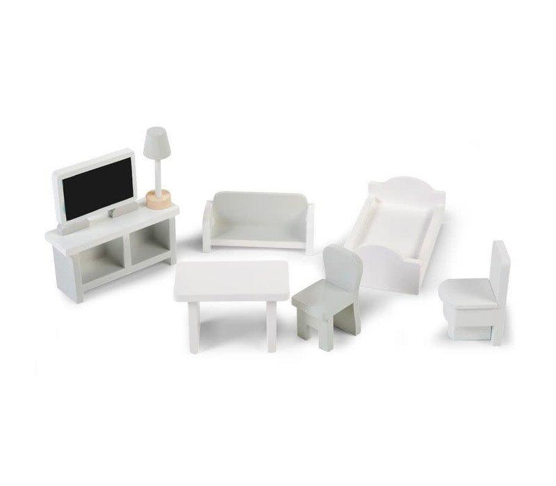 Mini meubelen 8st