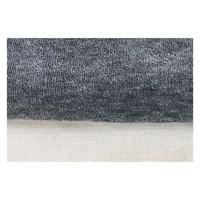 Pyjama 2-delig organic velours grijs melee/off-white