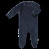 Fresk Velours Playsuit with feet Indigo