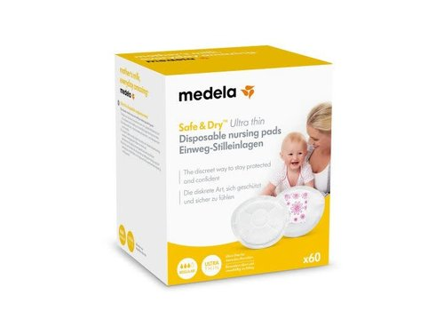 Medela Ultra Thin Disposable zoogkompressen 60st
