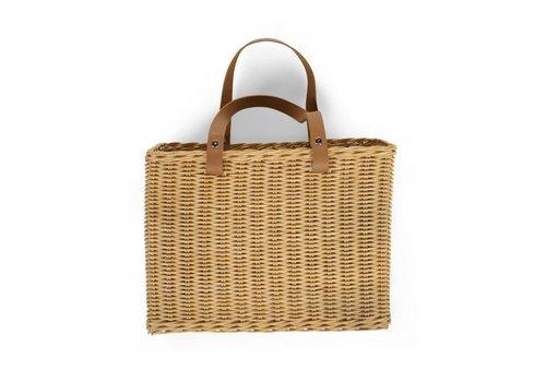 Childhome Hang Basket 2 handles natural