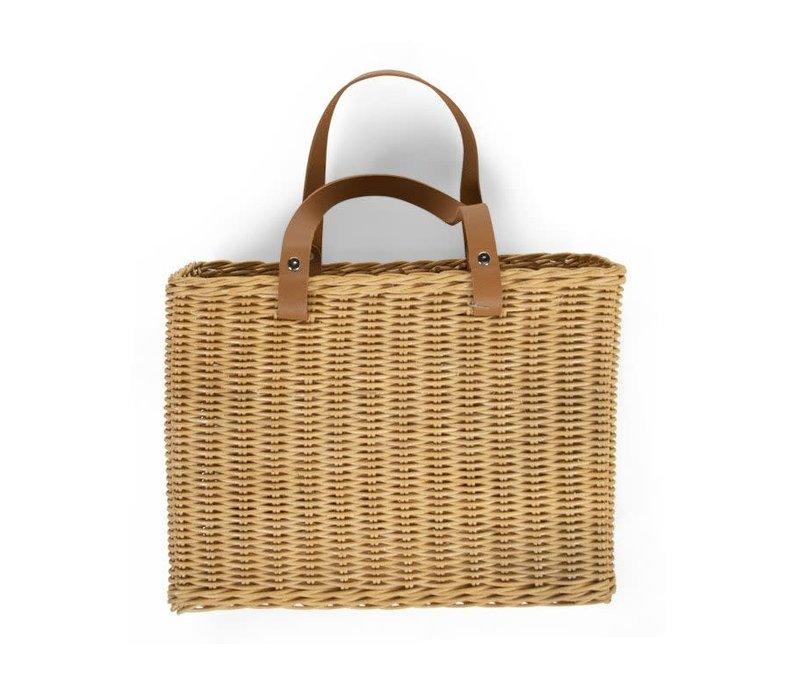 Hang Basket 2 handles natural