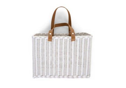 Childhome Hang Basket 2 handles white