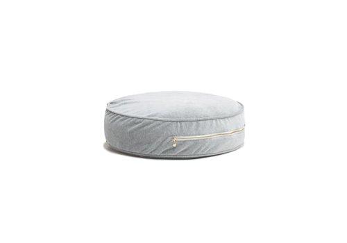 WigiWama Ottoman Pouf Grey