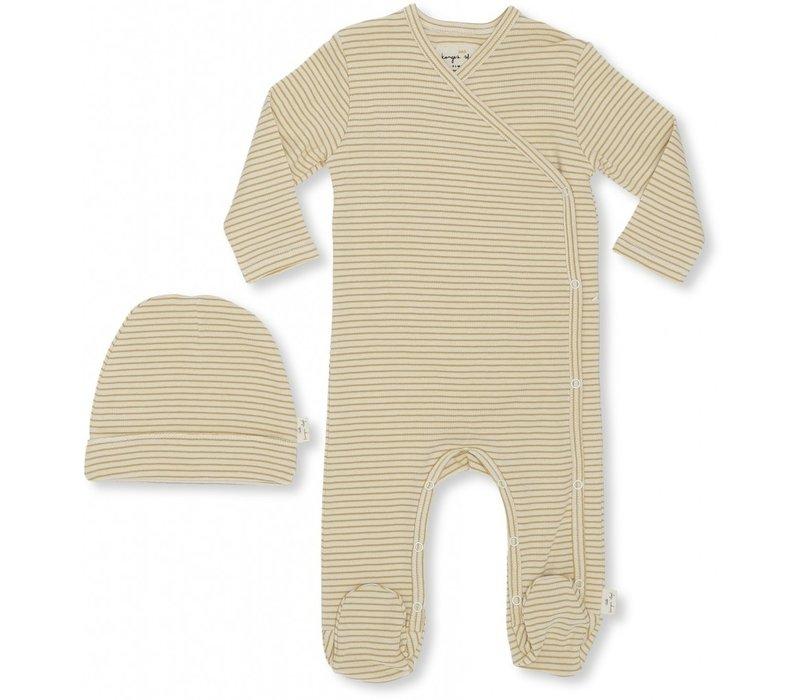 Dio newborn set Sunspell stripes