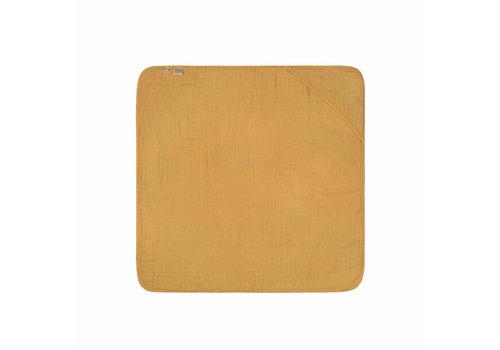 Lässig Badcape Muslin mustard