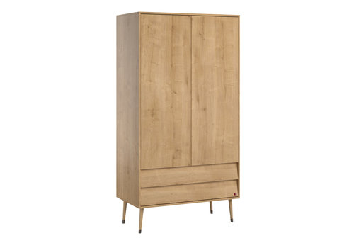 Vox BOSQUE 2-door wardrobe oak