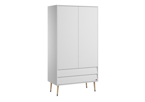 Vox BOSQUE 2-door wardrobe white
