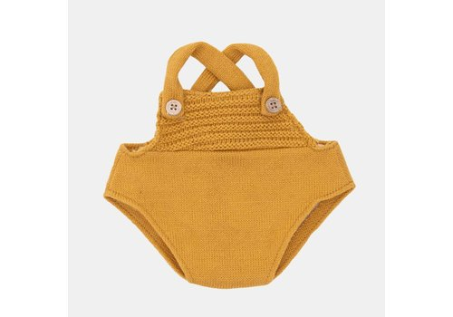 Olli Ella Dinkum Dolls Single Romper - Mustard