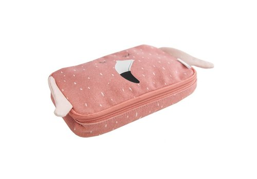 Trixie Pencil case rectangular - Mrs flamingo