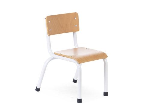 Childhome Kinderstoelen metaal hout naturel/wit 2st