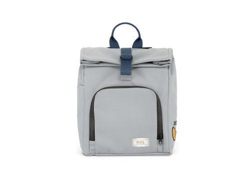 Dusq Mini Bag Canvas Cloud Grey - Ocean Blue