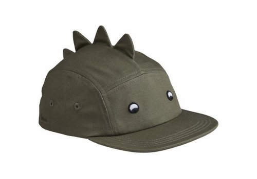 Liewood Rory cap Faune green dino