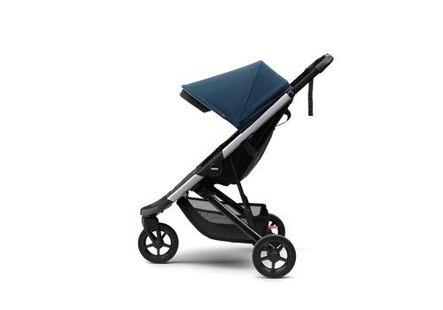 Thule Spring Stroller Aluminium Majolica blue