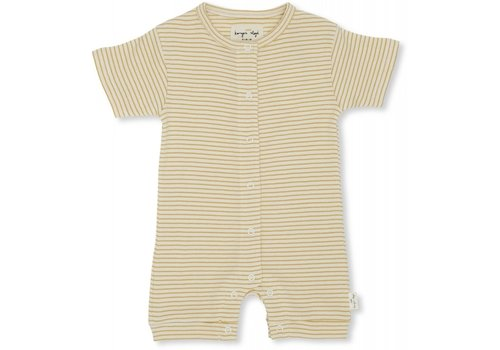 Konges Sløjd Dio onesie short sleeve Sunspell stripes