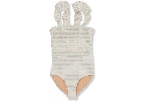 Konges Sløjd Girl UV swimsuit Vintage stripe