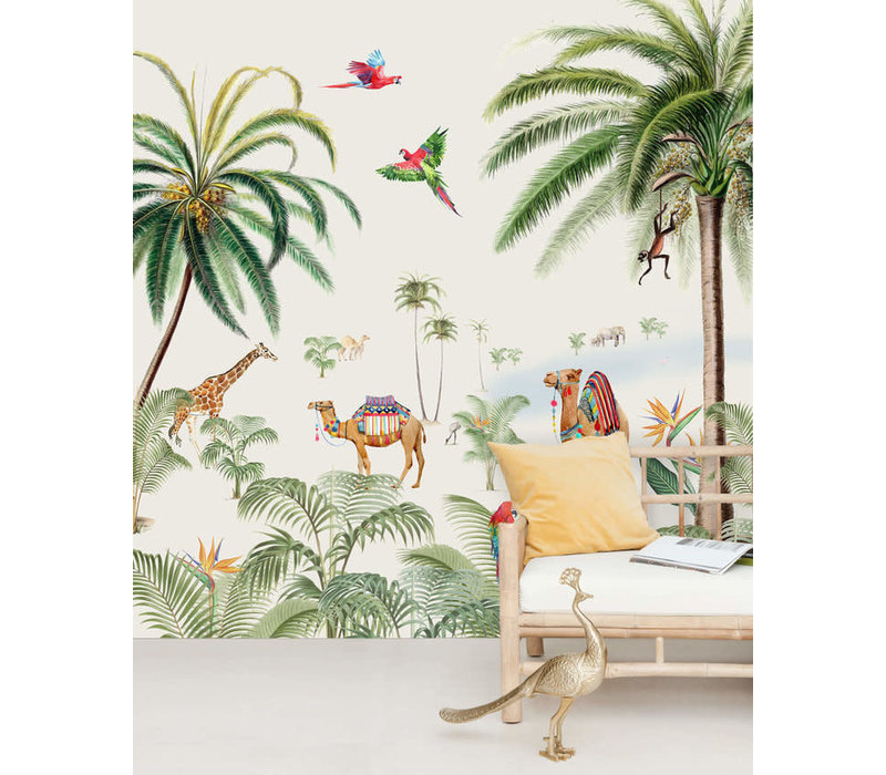 binti baby wallpaper mural