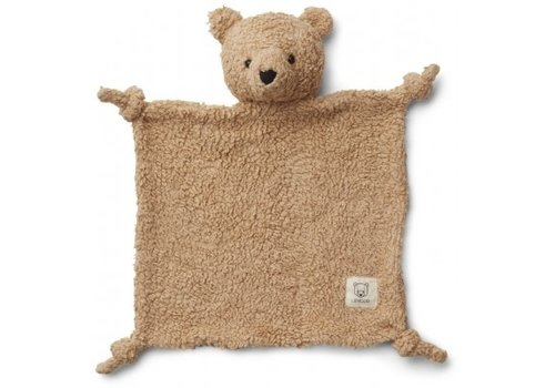 Liewood Lotte cuddle cloth Bear beige