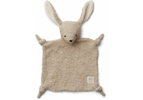 Liewood Lotte cuddle cloth Rabbit pale grey