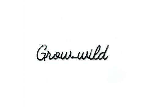 GOEGEZEGD A5 Grow wild black
