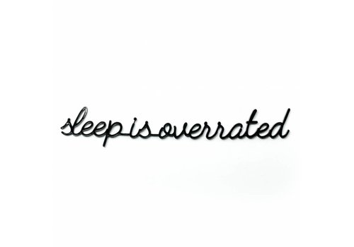 GOEGEZEGD A5 sleep is overrated black