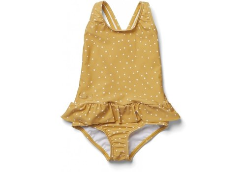 Liewood Amara swimsuit Confetti yellow mellow