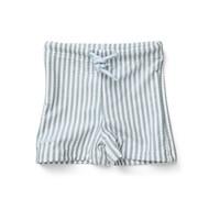 Zwembroek Otto Stripe sea blue/white