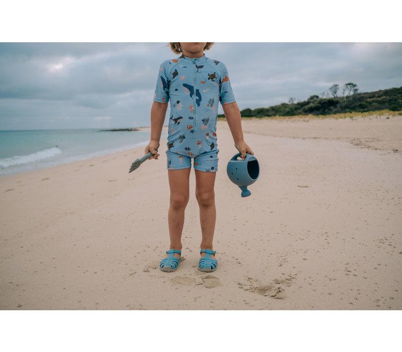 Max Swim jumpsuit Sea creature mix
