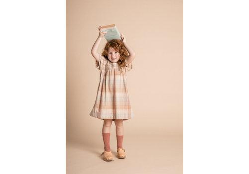 Olli Ella Clover Dress - Adobe Check