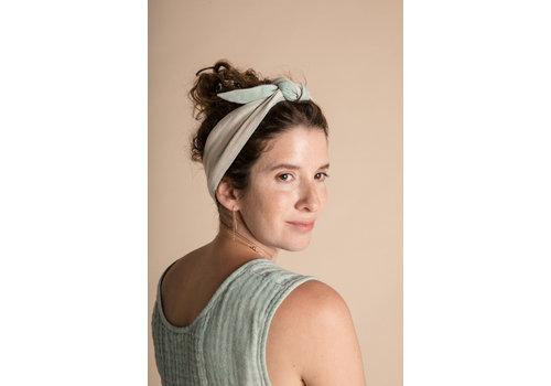Olli Ella Head Tie - Azure Harlequin