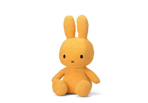 Nijntje Miffy Sitting Corduroy Yellow - 70cm