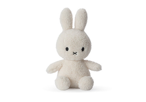 Nijntje Miffy Sitting Terry Cream - 23cm