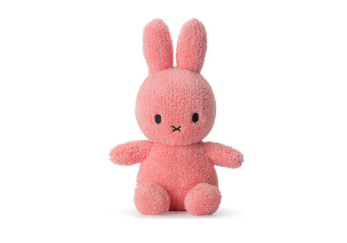Nijntje Miffy Sitting Terry Pink - 23cm