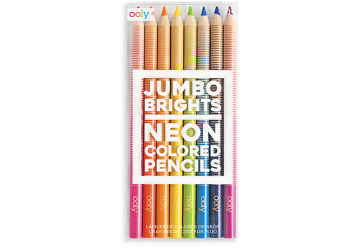 Ooly Dikke kleurpotloden ''Jumbo Brights'' 8st