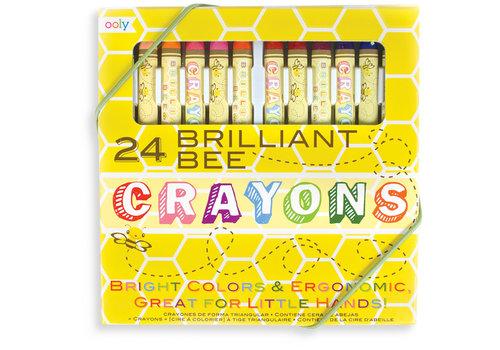 Ooly Bijenwaskrijtjes ''Brilliant Bee'' 24st