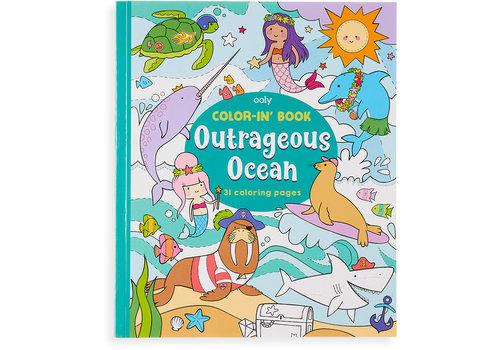 Ooly Kleurboek ''Outrageous Ocean''
