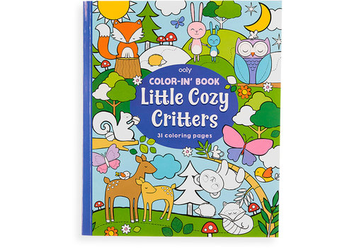"Ooly Color-in' book ""Little Cosy Critters"""