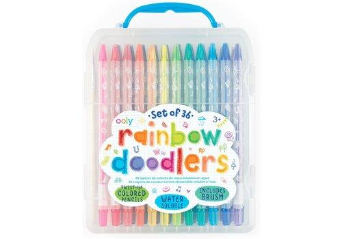 """Ooly Geschenkset kleurpotloden """"Rainbow Doodlers"""" 36st"""