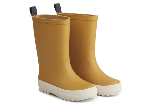 Liewood River rain boot Yellow mellow/ creme de la creme mix