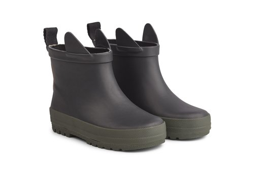 Liewood Tekla rain boot Black/ hunter mix
