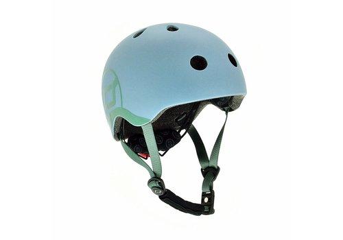 Scoot and Ride Baby Helmet XS - Steel (45–51cm)