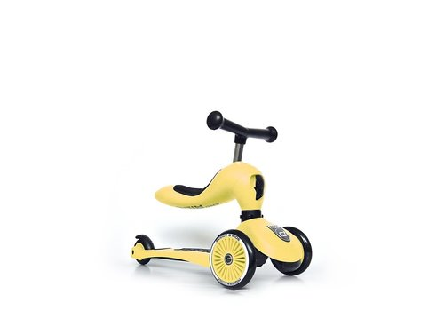 Scoot and Ride Highwaykick 1 - Lemon (1-5Y)