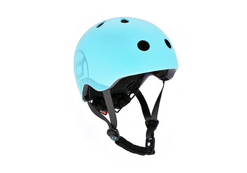Scoot and Ride Kinderhelm S - Blueberry (51-55cm)
