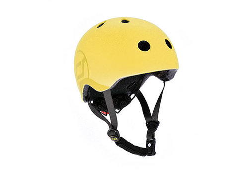 Scoot and Ride Kids Helmet S - Lemon (51-55cm)