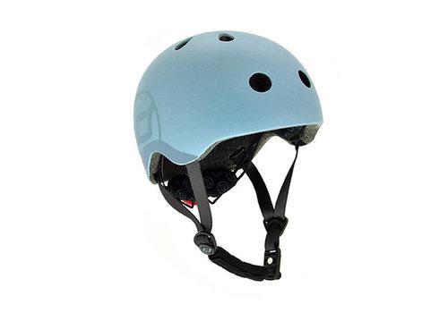 Scoot and Ride Kids Helmet S - Steel (51-55cm)