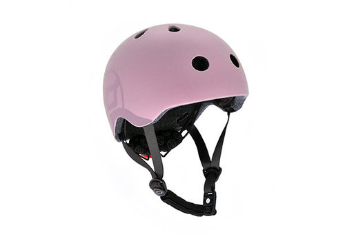 Scoot and Ride Kinderhelm S - Rose (51-55cm)